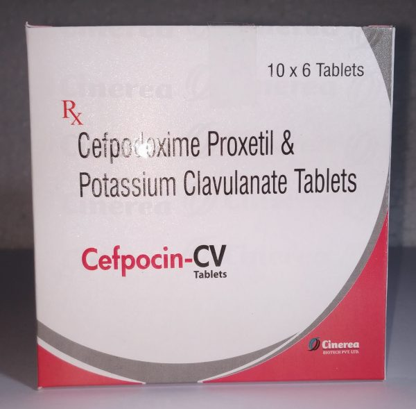 Cefpodoxime Proxetil & Potassiun Clavulanate Tablets