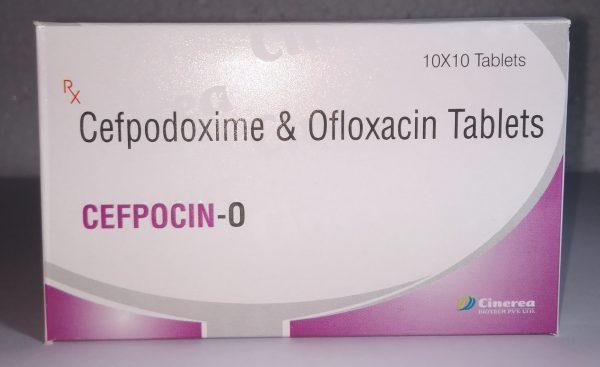 CEFPOCIN-O (Cefpodoxime & Ofloxacin Tablets)